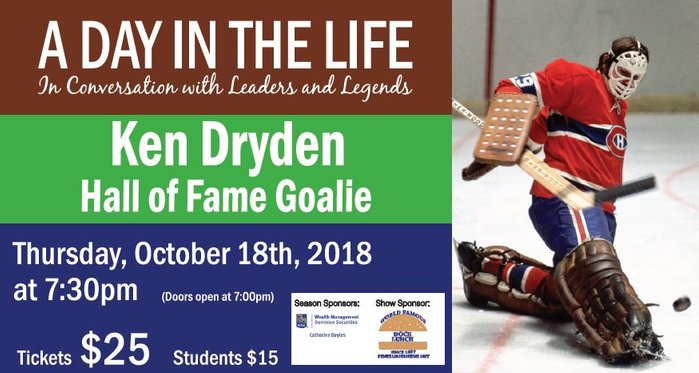 A Day In The Life with Ken Dryden