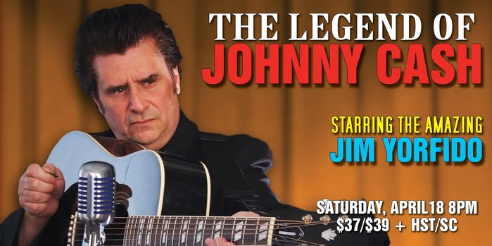 Bill Culp Productions Inc. presents The Legend of Johnny Cash starring Jim Yorfido