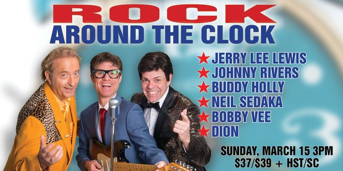 Bill Culp Productions Inc. presents Rock Around the Clock