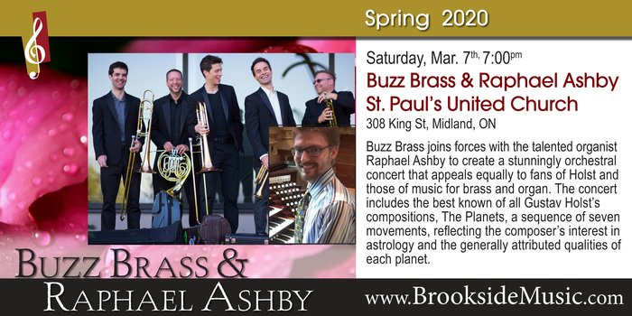 Brookside Music Presents: Buzz Brass and Raphael Ashby