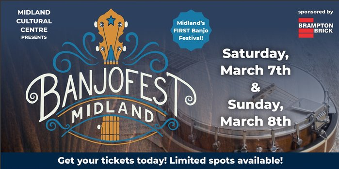 BanjoFest- March 7th and 8th 2020