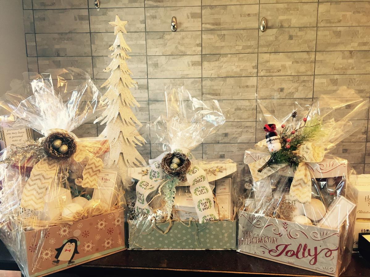 Gift Baskets at Heavenly Touch Spa